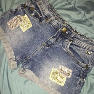 Justice denim Jean shorts